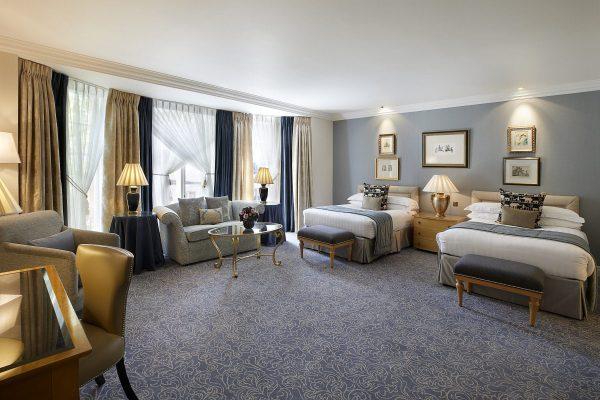 Khách sạn 5 sao phòng ngủ 2 giường đẹp