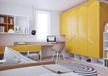 Sự kết hợp đầy màu sắc của đồ nội thất