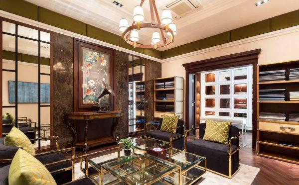 thiết kế tân cổ điển cho phòng khách