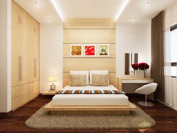 Phòng ngủ với những món đồ nội thất thông minh