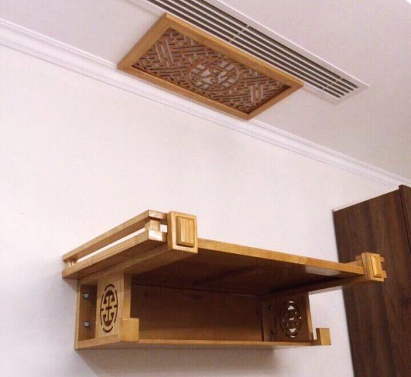 Bàn thờ treo tường cho những ngôi nhà có diện tích nhỏ hẹp
