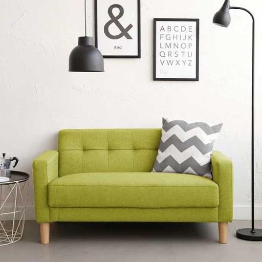sofa đôi cho phòng khách nhỏ