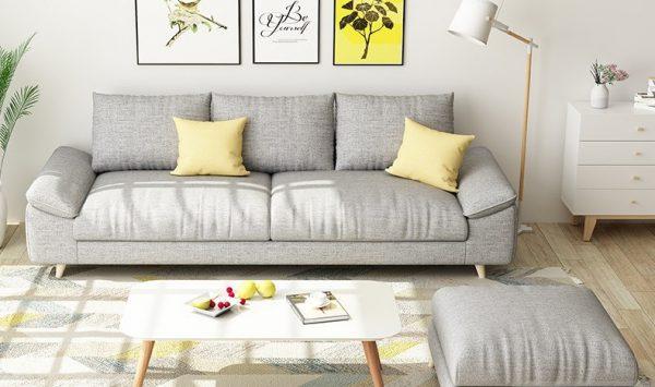 sofa văng nỉ có nhiều màu sắc, kiểu dáng