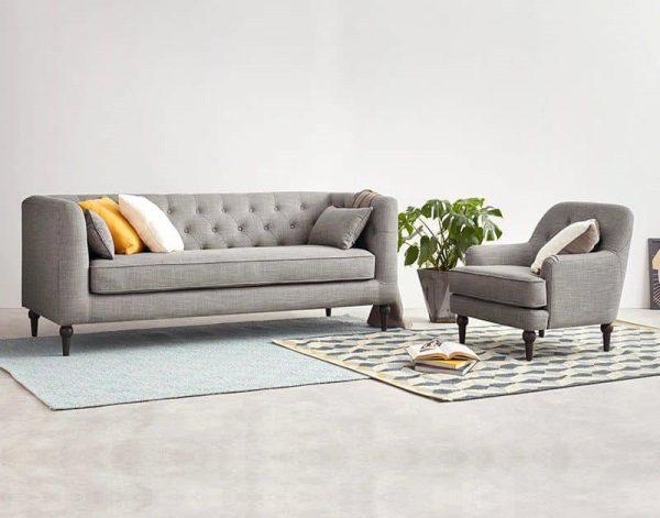 Chất liệu sofa văng nỉ