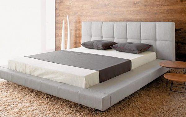 Giường ngủ bọc nệm đẹp hiện đại