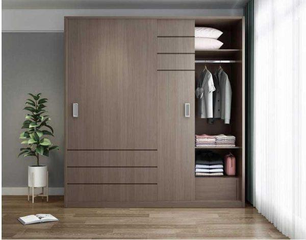 có nhiều loại gỗ công nghiệp làm tủ quần áo