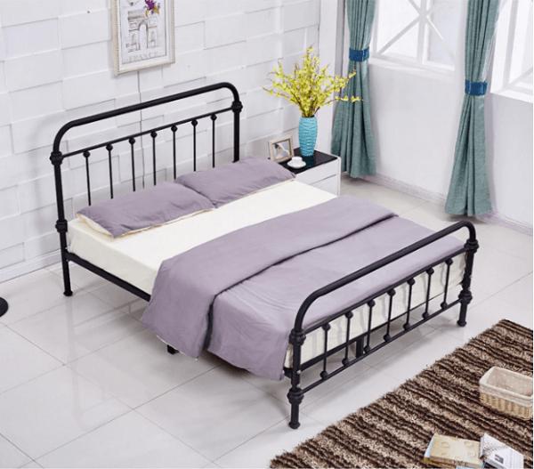 Giường ngủ giá rẻ 1 triệu chất liệu sắt