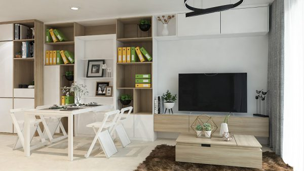 không gian sử dụng được chú trọng trong xu hướng thiết kế nhà cấp 4