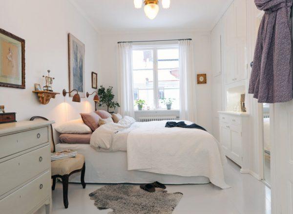 phòng ngủ nhỏ với đầy đủ công năng, tiện ích