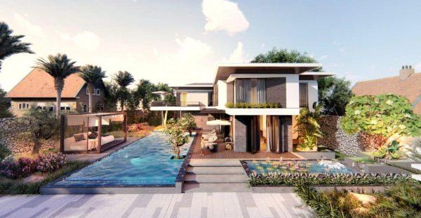 thiết kế nhà hiện đại độc đáo, ấn tượng