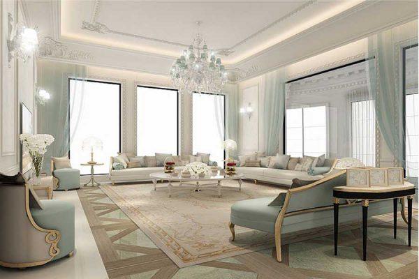 phòng sinh hoạt chung với thiết kế thoải mái