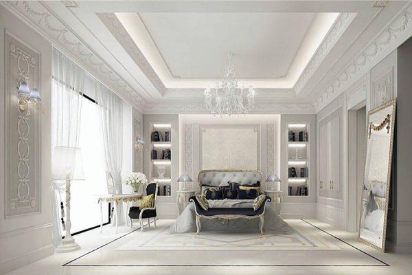 Phòng ngủ chính sang trọng