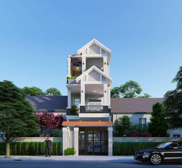 nhà mái Thái hiện đại, đẳng cấp