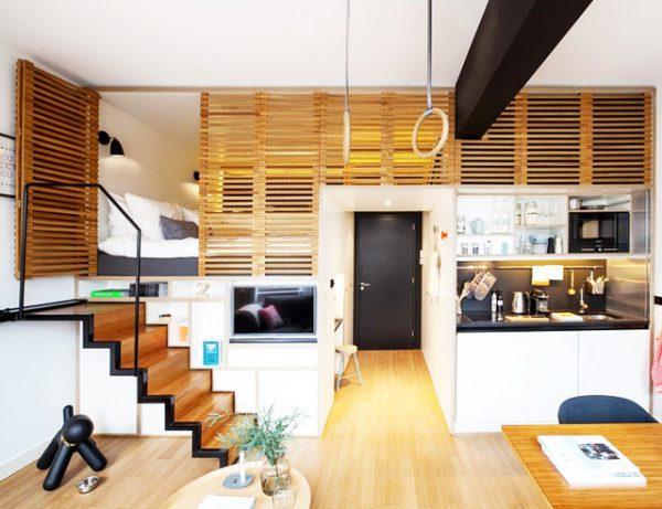 chọn chiều cao nhà gác lửng hiện đại phù hợp