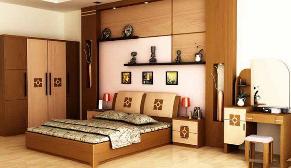 nội thất gỗ sang trọng, ấm cúng