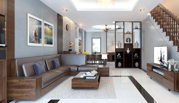 sắp xếp nội thất phòng khách đẹp