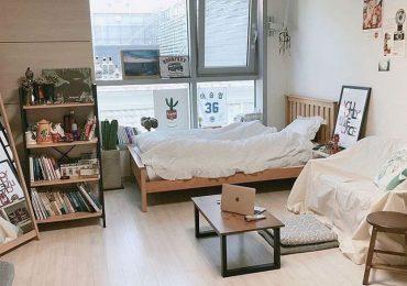 phòng ngủ phong cách Hàn siêu đẹp, siêu tiện nghi