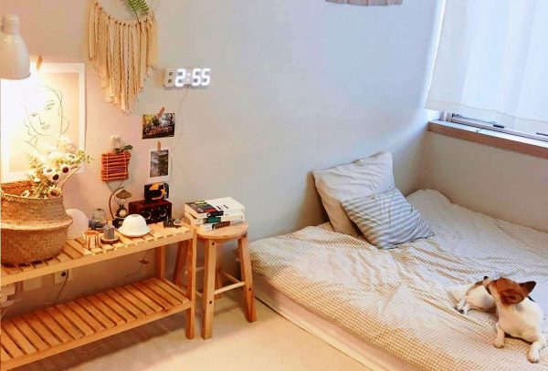 Phòng ngủ phong cách Hàn Quốc được nhiều bạn trẻ ưa chuộng