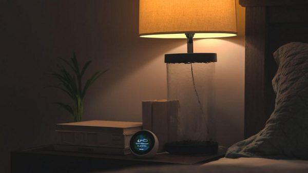 Đèn ngủ nhỏ tạo không gian ấm áp cho phòng ngủ kiểu Hàn