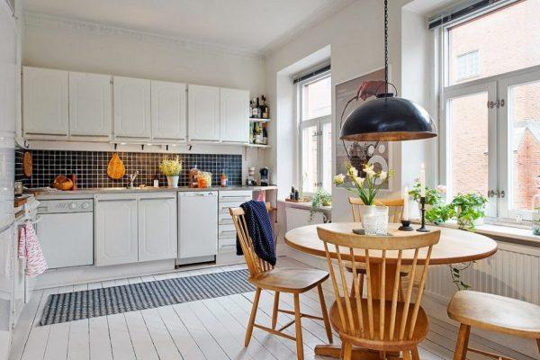 Thiết kế phòng bếp đẹp với nội thất tiện nghi