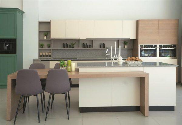 Sử dụng đảo bếp cho thiết kế nhà bếp đẹp