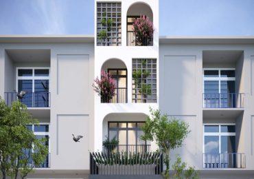 thiết kế nhà với không gian thiên nhiên xanh mát