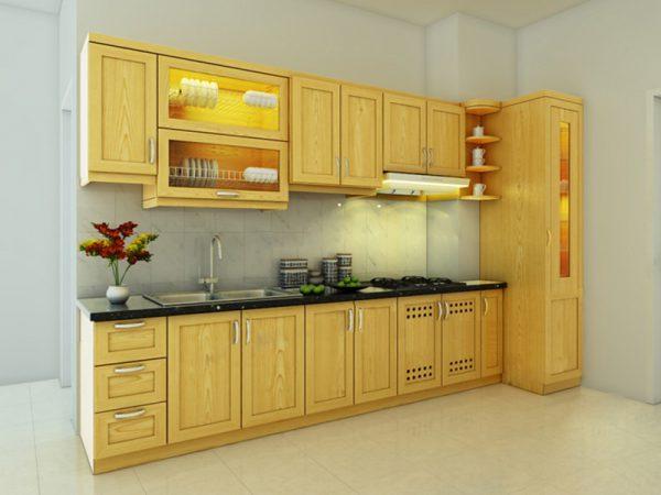 hình đang tủ phù hợp không gian bếp
