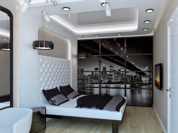 thiết kế nội thất phòng ngủ hiện đại, cá tính
