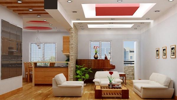 Thiết kế giúp phòng khách trở nên thông thoáng và hiện đại hơn