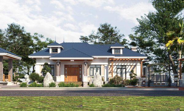 Thiết kế nhà vườn hiện đại và sang trọng