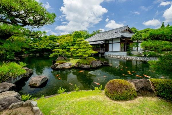 biệt thự sân vườn kiểu Nhật