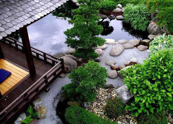 biệt thự sân vườn kiểu Nhật 8