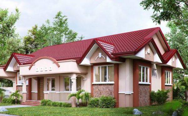 mẫu thiết kế nhà với màu sắc ấn tượng