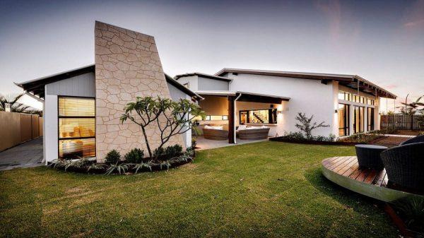 thiết kế nhà kết hợp sân vườn