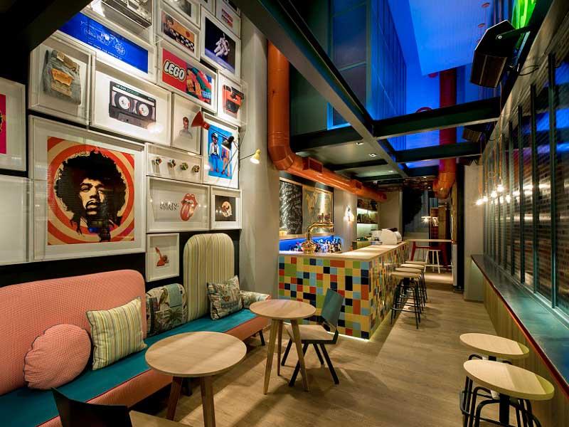Phong cách thiết kế đa dạng của quán cafe nhỏ