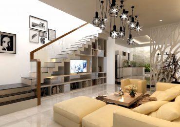 thiết kế cầu thang cho nhà nhỏ 2