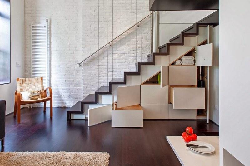 thiết kế cầu thang cho nhà nhỏ 3