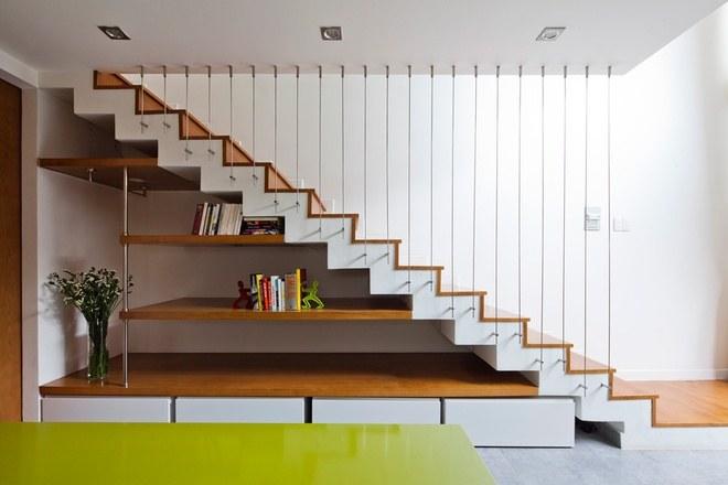 thiết kế cầu thang cho nhà nhỏ 5