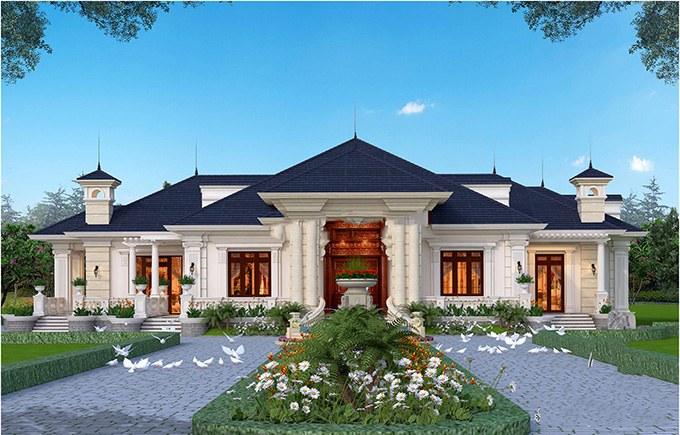 tính đối xứng tuyệt đối của kiến trúc cổ điển
