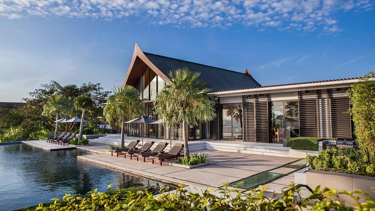 thiết kế biệt thự với không gian hài hòa với thiên nhiên