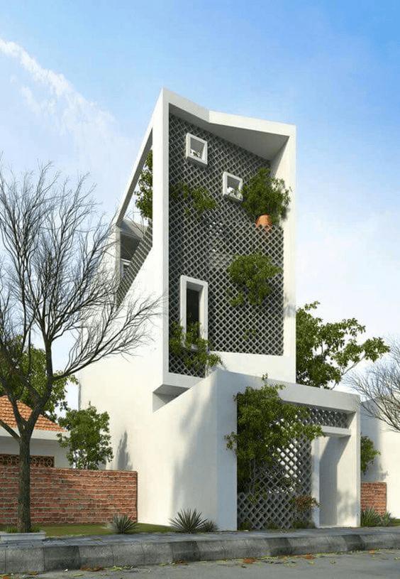 Mẫu nhà ống 3 tầng đẹp nhất 2021 thiết kế phong cách hiện đại