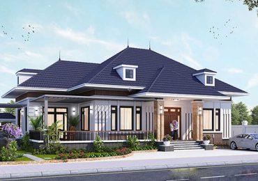 thiết kế nhà như một biệt thự mini