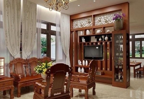 nội thất gỗ sang trọng