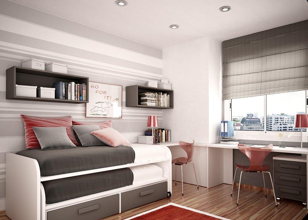 Sắp xếp các đồ nội thất hợp lý sẽ làm thiết kế nhà diện tích nhỏ 20m2 của bạn gọn gàng và rộng hơn