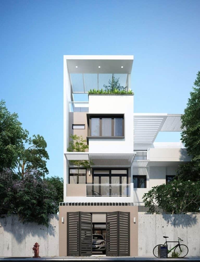 Chi phí xây nhà 3 tầng 20m2