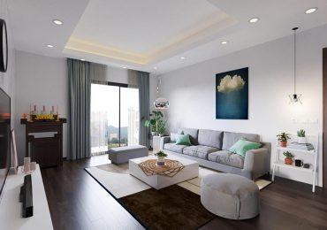 trang trí phòng khách nhà chung cư hiện đại