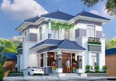 Mái Nhật với độ bền tốt, che mưa che nắng tốt cho cả căn nhà