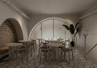 thiết kế nội thất quán cafe ấn tượng nhờ phong cách Wabi Sabi