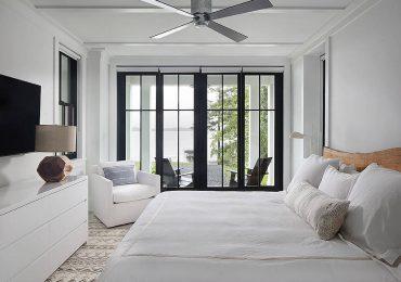 đặc biệt lưu ý khi thiết kế không gian phòng ngủ có 2 cửa