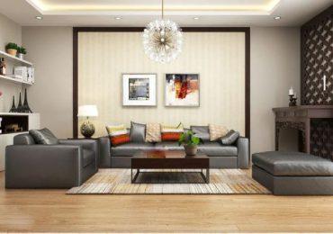 phòng khách chung cư là không gian thích hợp nhất cho việc đặt bàn thờ